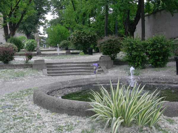 Padova immagini for Decorazione giardini stile 700